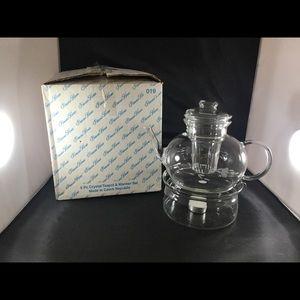 Princess House Vintage Teapot & Warmer